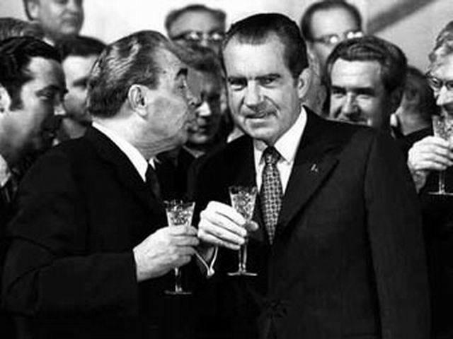 President Nixon visits Russia