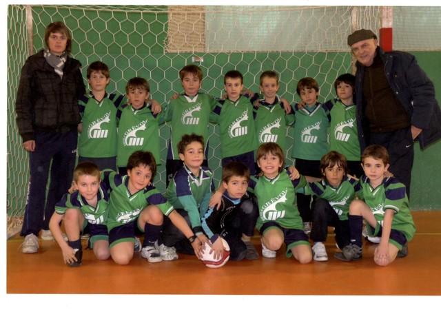 El meu primer equip.