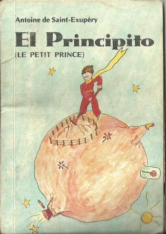 """Leí la obra """"El principito"""" de Antoine de Saint Exúperi"""