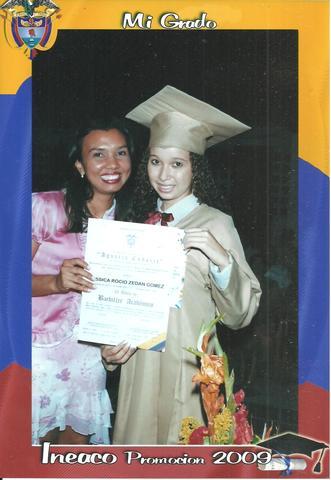 Me gradué como bachiller