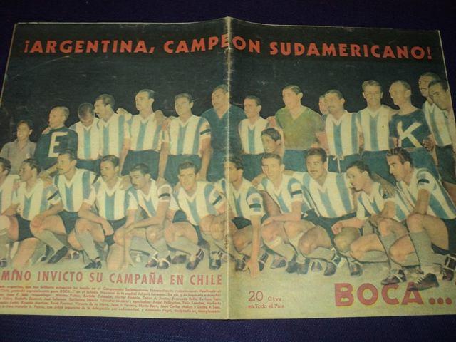 Argentina vs Brasil, Campeonato Sudamericano 1945