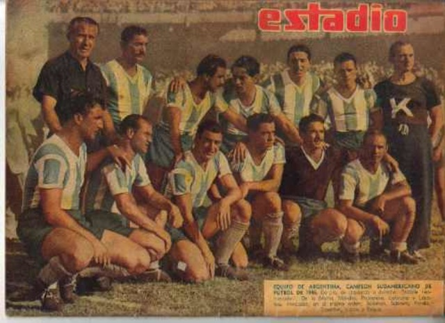 Argentina vs Brasil, Campeonato Sudamericano 1946