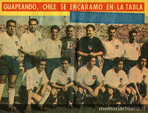 Argentina vs Chile, Campeonato Sudamericano 1955