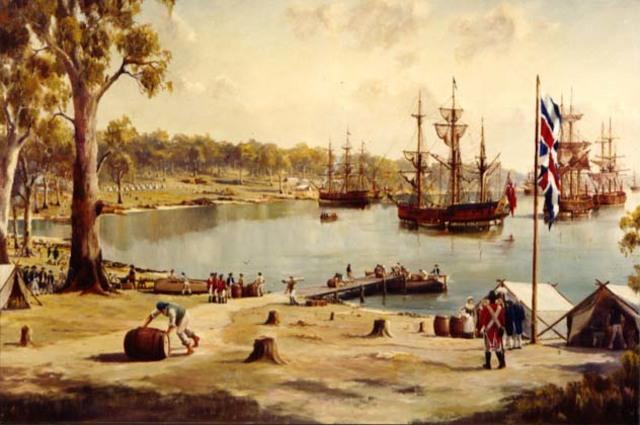 The Third Fleet arrival