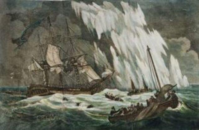 The Second Fleet arrival
