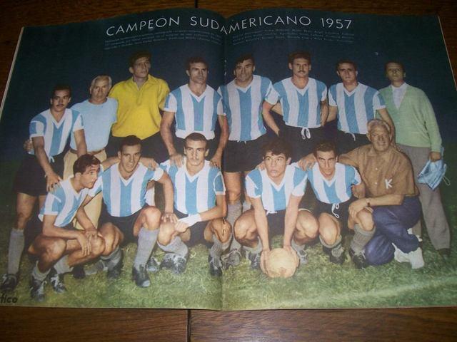 Argentina vs Brasil, Campeonato Sudamericano 1957