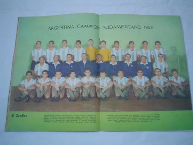 Argentina vs Brasil, Campeonato Sudamericano 1959 (Argentina)