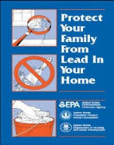 oResidential Lead-Based Paint Hazard Reduction Act
