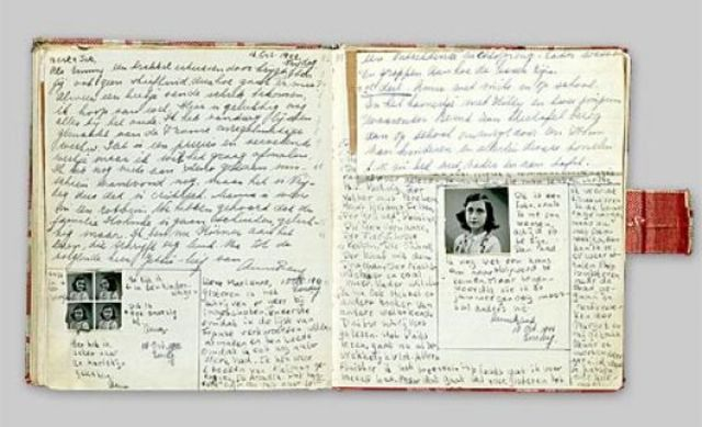 Anne Frank's diary was published