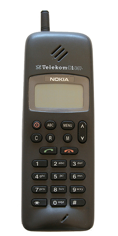 Nokia 1011 - This Phone costed around 1300 euros