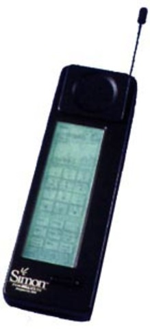 BellSouth/IBM Simon Personal Communicator - This phone was the first touch screen mobile phone in the world