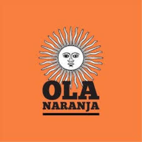 Ola Naranja - Scioli 2015