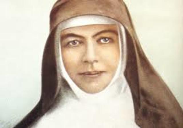 Mary MacKillop founds a school