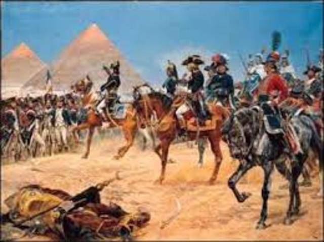 desembarque en Egipto