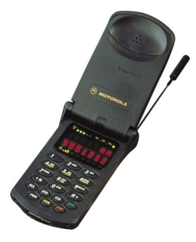 Motorola StarTAC - The mobile phone was the first flippy mobile