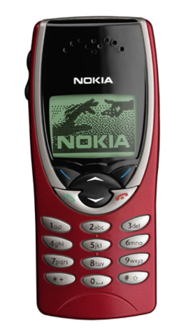 Nokia 8210 - Everybody liked this phone because of the color, but it was soon discontinued because the screen was really bad. Also this was the lightest mobile phone ever that Nokia made, which is 79 grams.