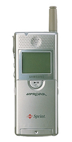 Samsung SPH-M100 Uproar - This was the first mobile phone to have MP3 music.