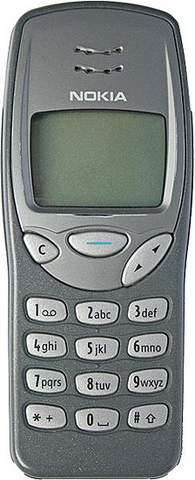 Nokia 3210 - This phone was the most successful series sold in history. With more than 160 million mobile phones sold!