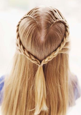 Adolecencia  peinados