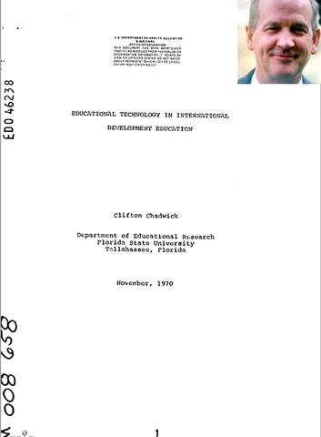Chadwick y Diseño Instruccional