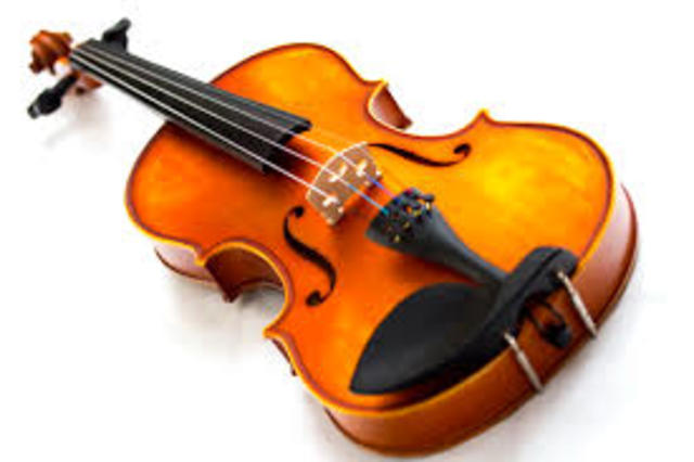 Yo juege la violin