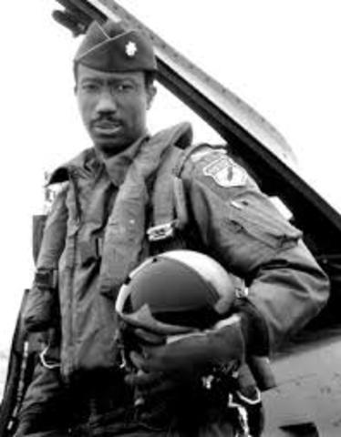 First African American Flight Officer