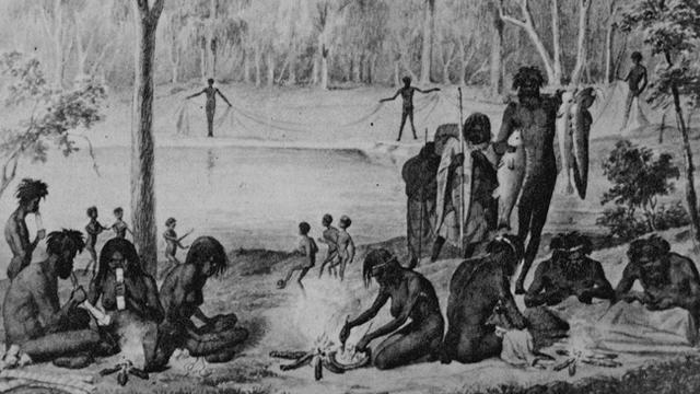 The Aborignese find Australia
