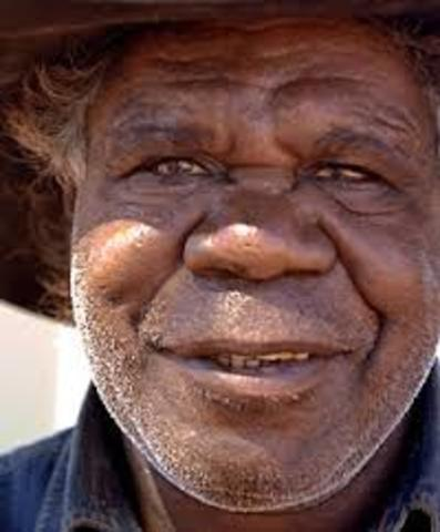 Aboriginal Man Perspective