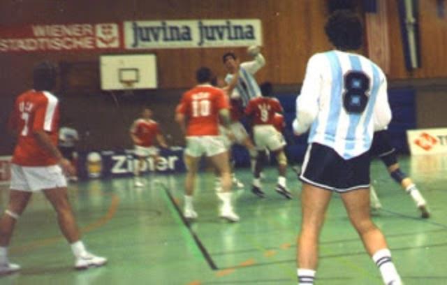 Primer Participación de la Selección Argentina a nivel mundial.