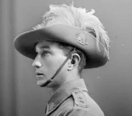 ANZAC soldier Perspective