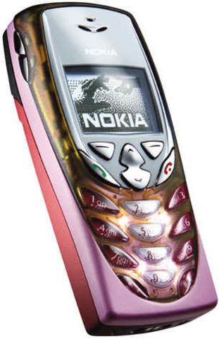 Nokia 8310 - This mobile had a FM Radio