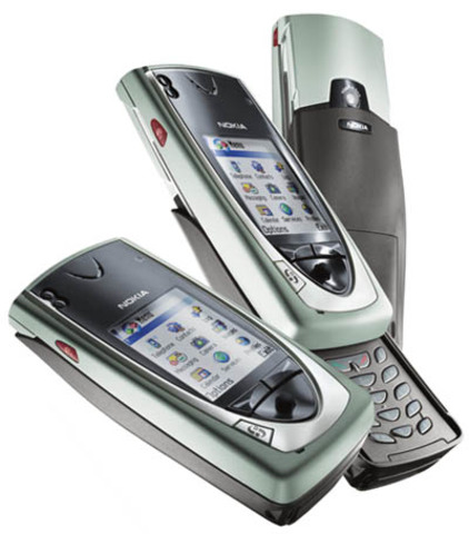 Nokia 7650 - This was the first Nokia set to feature a built-in camera and was featured in the movie Minority Report.