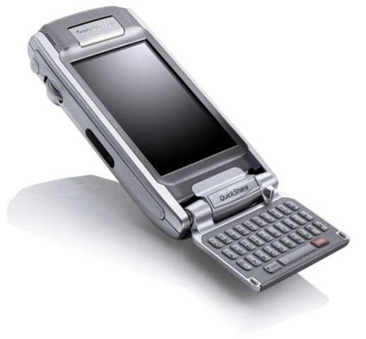 Sony Ericsson P910 - An attractive flip smartphone with full internet connectivity.