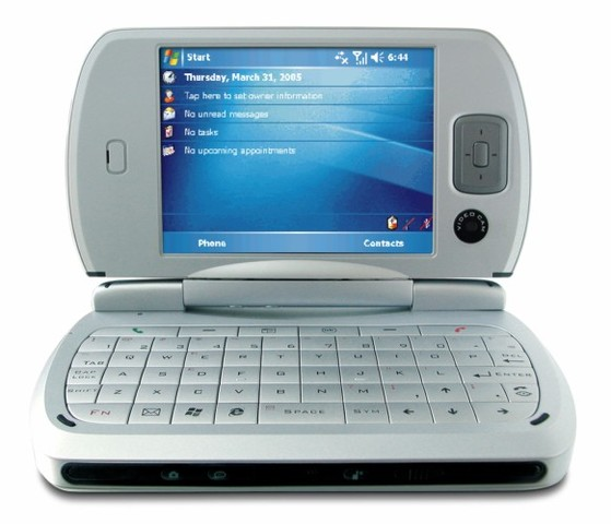 HTC Universal - This was the first 3G Pocket PC phone at HTC and the first to come with Windows Mobile.