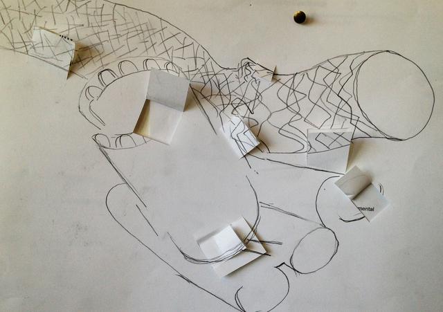 Cubist Drawing Technique