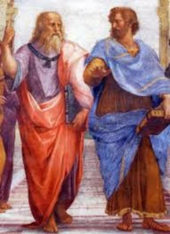 AC Demócrito y Platón