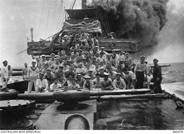 First action made by the Royal Australian Navy