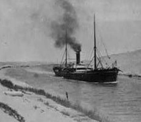 Protection of the Suez Canal
