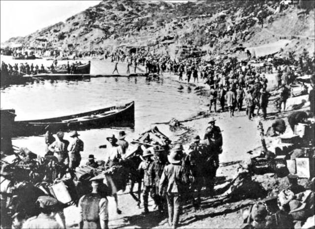 Evacuation from Anzac Cove