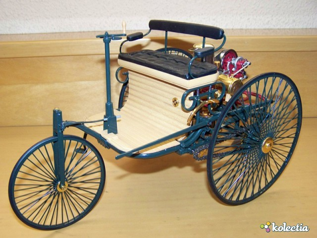Motor Wagen is Patented