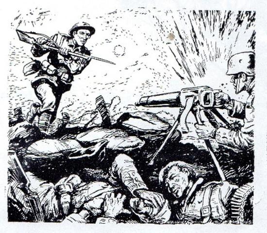 22nd Battalion advance at Ville-sur-Ancre, France Part 1