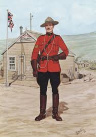 North West Mounted Police- Politics and Law