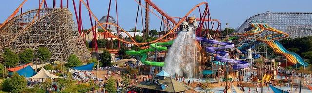 El día que fui a Six Flags por primera vez -I