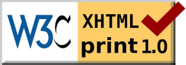 XHTML Print