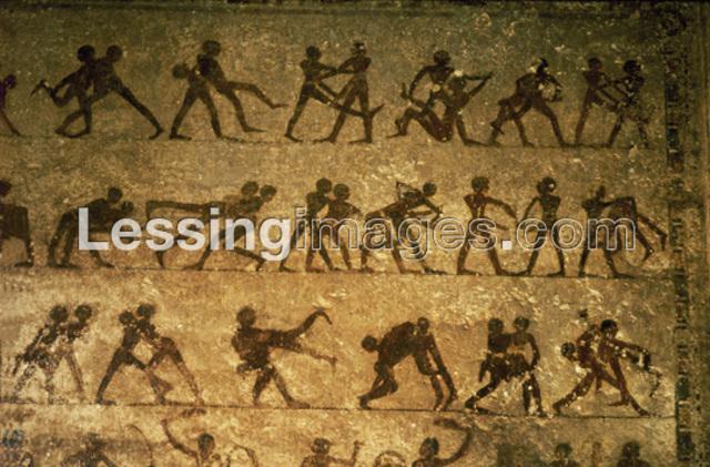 Pre-Animation: An Egyptian Mural