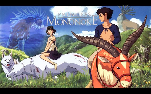 Hayao Miyazaki's Princess Mononoke