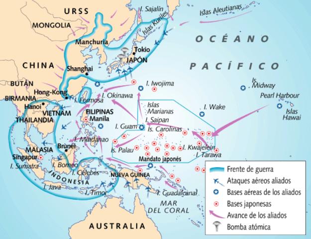 Japón empieza a perder supremacía en el Océano Pacífico