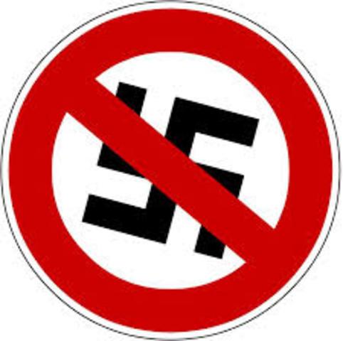 En Alemania se declara ilegal al Partido Nacionalsocialista (Nazi)