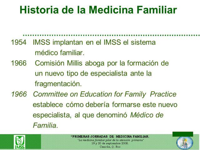 Denominación Médico de Familia