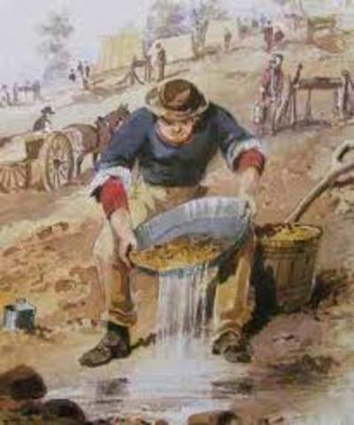 Australian Gold Rush started in Bathurest